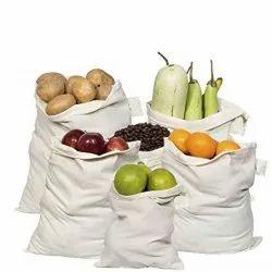 GOTS Certified Organic Cotton Muslin Pre Shrunked Produce Bags