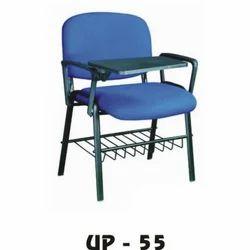 Blue Writing Pad Chair