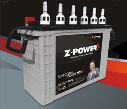 Z-Power Low Maintenance Solar Battery, Capacity: 120 Ah
