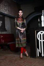 Silk Designer Kurti