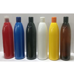 500 Ml PET Conical Round Colored Bottles