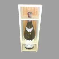 Wine Bottle Storage Wooden Box