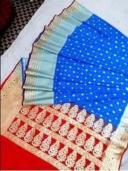 Vraksha Traders Silk Anamika Buti Minedar Sarees