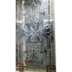 Designer Window Glass, Shape: Rectangle
