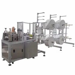 surgical 3 ply mask making machine