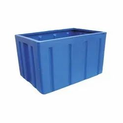 Roto Mould Plastic Large Pallet Containers