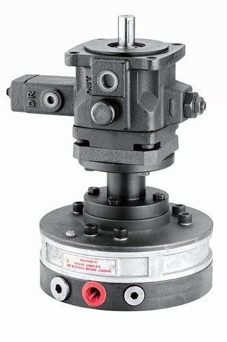 Variable Displacement Through Shaft Vane Pump
