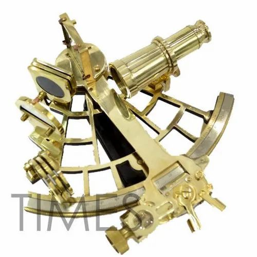Nautical Solid Brass Sextant, Packaging Type: Corrugated Box, Rs 800 /piece  | ID: 4098145397