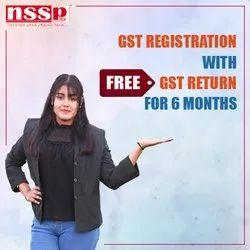 GST Registration with GST Return for 6 Months