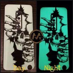 ME Innovation 3D Nightlamp Mobile Back Skin