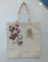 Earthyybags Natural Cotton Printed Cotton Shopping Bag, Size/dimension: 45.5x38 Cm, Size: 38 X 42 Cm