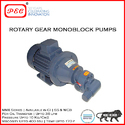 Rotary Gear Monoblock Pumps