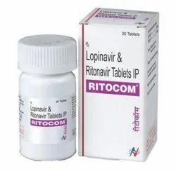 Ritocom Lopinavir And Ritonavir Tablets