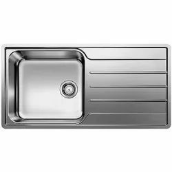 Wall Mounted Stainless Steel Single Bowl Sink