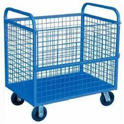 Tech Mark MS Wire Mesh Trolleys, Capacity: Upto 50 Kg