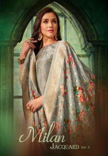 c932150278 Kala Fashion Milan Jacquard Vol 3 Jacquard Salwar Suits, Salwar Suit ...