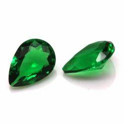 Pear Cut Glass Stone