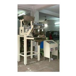 Semi Automatic Weigher Filler Machine