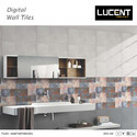 Polished Lucent Bathroom Wall Tiles, Packaging Type: Box, Thickness: 5-10 Mm