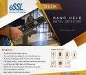 D100S Hand Held Metal Detector