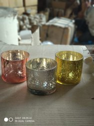 Mercury Cylinder Candle Holders