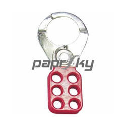 Lockout Hasps Red :  PS-LOTO-HASP-CP