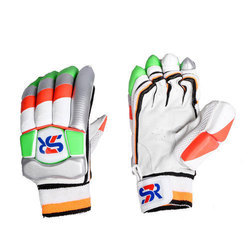 SR Leather Cricket Batting Gloves, Packaging Type: Box