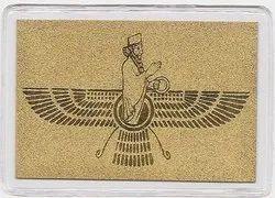 Farohar - 24K Gold Wallet Card