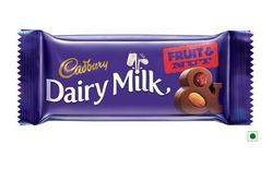 Cadbury Dairy Milk Fruit And Nut Chocolate, 36 Gm Pack