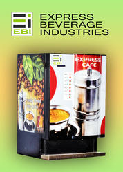 Live Coffee Vending Machine Distributor