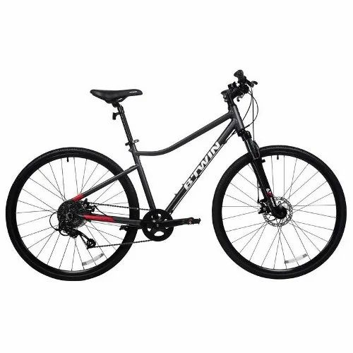 BTwin Black Riverside 500 Hybrid Cycle, Model Name/Number: 8389412