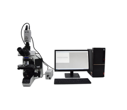 Yarn Cross Section & Diameter - Digital Trinocular Microscope
