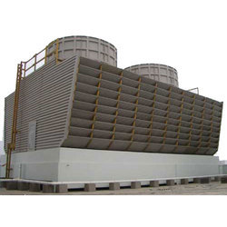 Induced Draft Wooden Cooling Towers