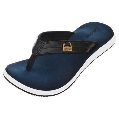 54cb763c07d Hoppers Go Mens Polo N Blue And White Casual Slippers