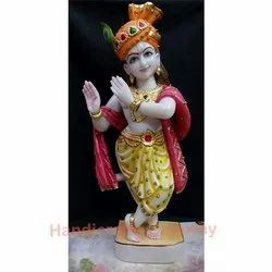 Decorative Marble Krishna Murti