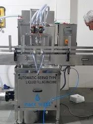 Pharmaceutical suspension filling machine