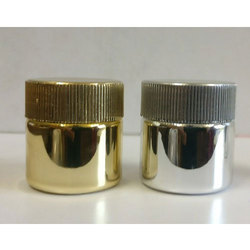 15 Ml Metallic Plastic Jar