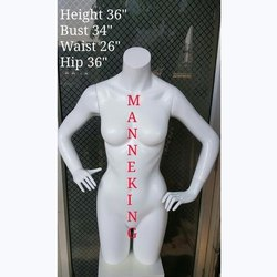 Female Torso Mannequin With Arms