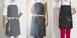 Striped Printed Apron