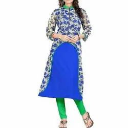 Netra Creation Rayon Fabric Ladies Designer Kurtis