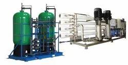 Semi Automatic RO Plant