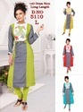 Rayon And Cotton Full Sleeve Embroidery Kurtis, Size: L & Xl
