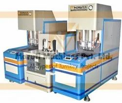 Semi Automatic Linear PET Bottle Blowing Machine