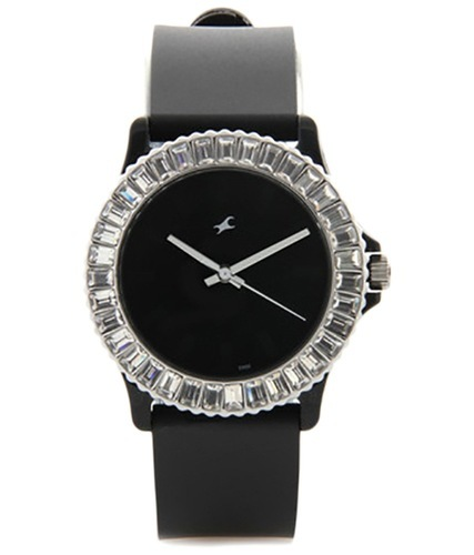 0675c6a05 Black Fastrack Wrist Watch
