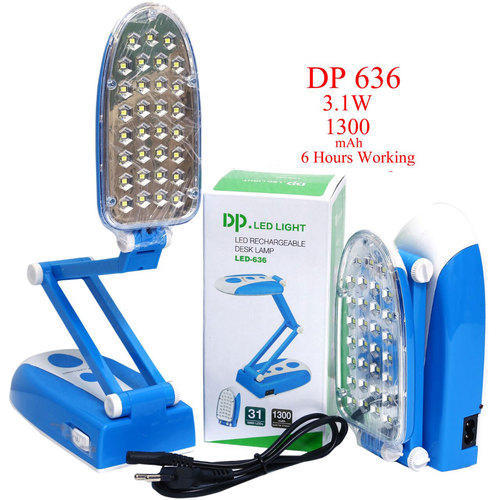 Led Rechargeable Desk Lamp 3 1 W Noble Impex Id