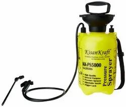 Kisankraft Manual 5 Ltr Pressure Sprayer KK-PS-5000