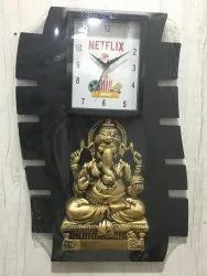 Customised Decorative Plastic Wall Clock