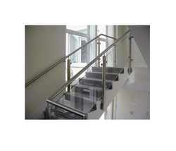 Aluminium Glass Railing