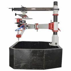 Pillar Mounted Heavy Duty Profile Gas Cutting Machine