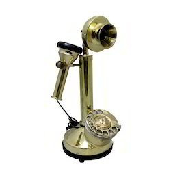 Brass Antique Land Line Phone